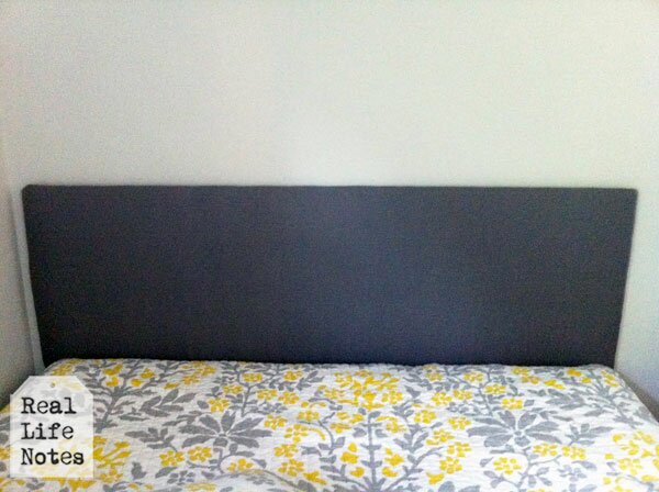 headboard out of foam board
