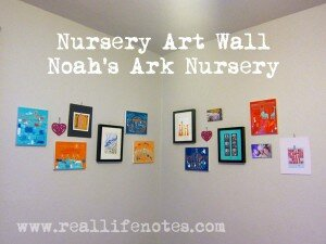 Nursery Art Wall, Noah's Ark Nursery