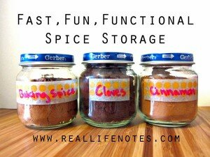 The Spice of Life: Cute and Easy Spice Storage
