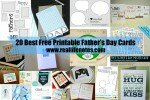 20 Best Free Printable Fathers Day Cards