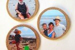 Cork Photo Display for Instagram Pictures