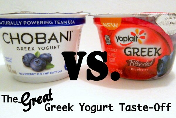 Greek Yogurt Taste-Off