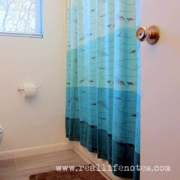 Modern Playful Bathroom, Teal Turquoise Bathroom